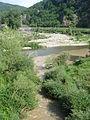 La Sumène (rivière, Haute-Loire) débouchant à Peyredeyre dans la Loire.JPG