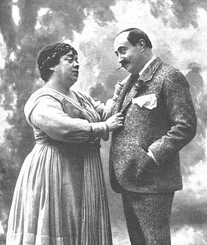 The Lady from Trévelez (play) - A performance of the play in 1916.