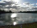 Lac de l'Escourou Saint-Sulpice-d'Eymet aval D25E.JPG