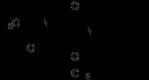 Struktur von Lacosamid