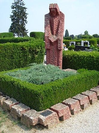 Ladislav Kralj - Ladislav Kralj-Međimurec grave at Čakovec Cemetery