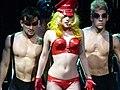 Lady Gaga performing Boys Boys Boys.jpg