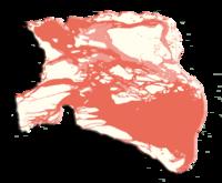 Mapa de la Laguna Colorada