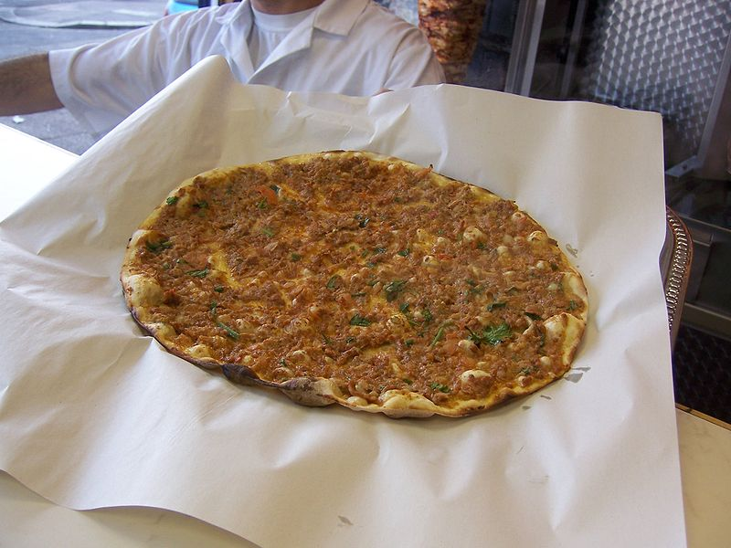 Lahmacun. From Best Street Foods in Istanbul, Turkey
