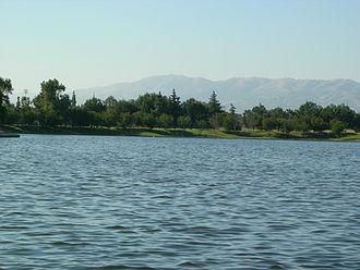 Sepulveda Dam - Lake Balboa Park.