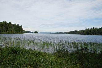 Ozette Lake - Ozette Lake in 2008.