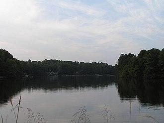 Peachtree City, Georgia - Lake Peachtree