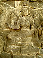 Lalitavistara - 040 S-22, Queen Maya heals the Sick (detail, center) (8599301846).jpg