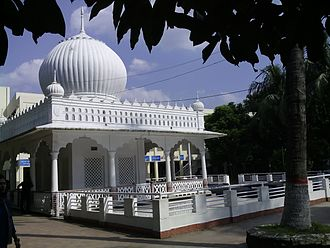 Bengali Muslims - Mausoleum of Lalon Shah, a syncretic Baul poet inspired by Sufism