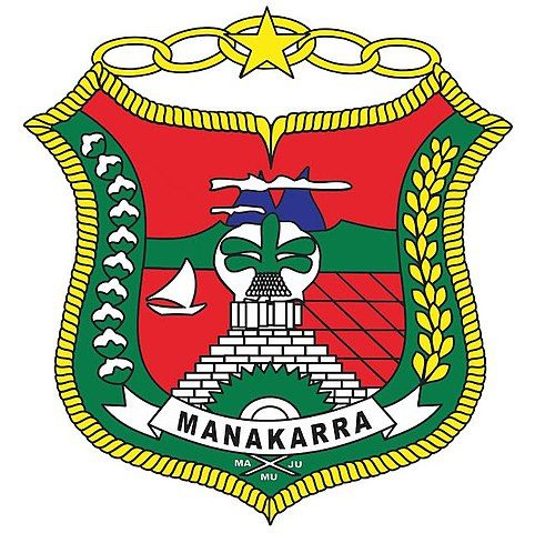 File Lambang Kabupaten Mamuju Jpg Wikimedia Commons