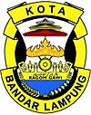 Official seal of Bandar Lampung