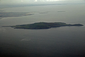 Drumanagh - Lambay Island, just off the coast very close to Drumanagh. Some remains (Roman brooches and decorative metalware) were discovered on the island, which are thought to date to the 1st century AD. The nature of artefacts found there also demonstrated Romano-British trading.