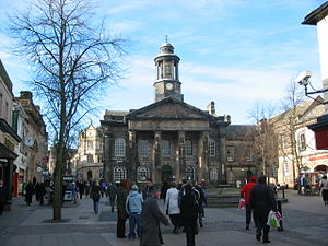 Lancaster City Museum - The museum, seen across Market Square