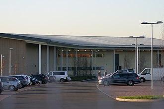 Landau Forte Academy Amington - Image: Landau Forte Academy Amington Side Entrance