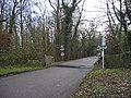 Lane leading to Whitewebbs Carvery, Enfield - geograph.org.uk - 1080077.jpg