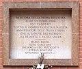 Lapide commemorativa partigiani Università di Bologna.jpg