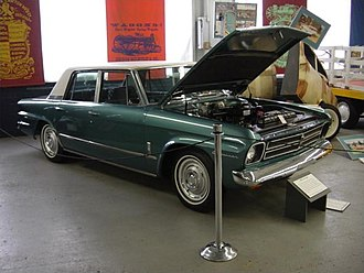 1966 Studebaker Cruiser 4-door sedan, the last factory-produced Studebaker Last Studebaker 1.JPG