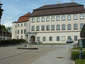 Ludwig von Welden - Großlaupheim Castle, birthplace of Ludwig von Welden
