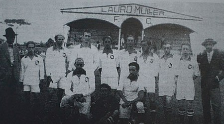 Time do Lauro Muller Campeão F.C. - 1931