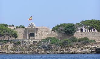 Lazaretto - Principal entrance to the lazaretto on Mahón