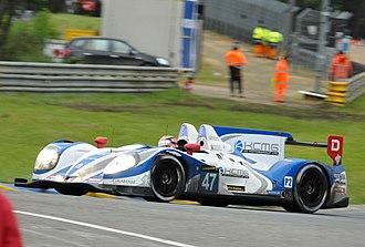 KC Motorgroup - KCMG racing at Le Mans in 2013.