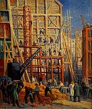 Le chantier , 1911