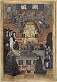 Le corps d'Anne de Bretagne est enlevé du lit de parade et est déposé dans un cercueil.jpg