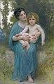 Le jeune frère, by Adolphe William Bouguereau.jpg