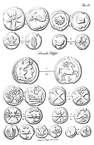 Luceria - Le monete attribuite alla zecca dell'antica città di Luceria, page 43