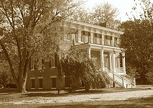 Newport News, Virginia - Lee Hall, built in 1859 by Richard Lee.