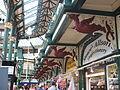 Leeds City Market dragons.JPG