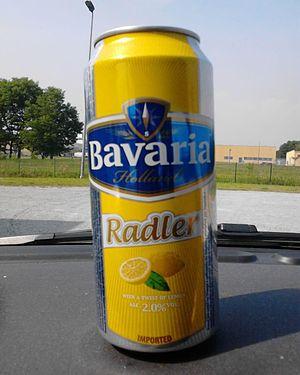 Bavaria Brewery (Netherlands) - Tin of Bavaria Radler