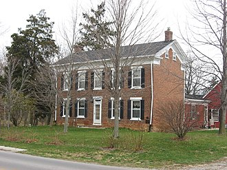 Root Township, Adams County, Indiana - The Lenhart Farmhouse, a historic site in the township