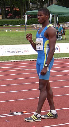 Leonel Suarez at TNT Fortuna Meeting in Kladno 15June2011 136.jpg