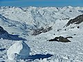 Les 3 Vallées, View to Peclet and Val Thorens - panoramio.jpg