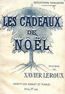 <i>Les cadeaux de Noël</i> opera
