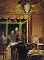 Lesser Ury 1898 Abend im Cafe Bauer.JPG