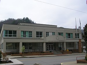 Letcher County courthouse in Whitesburg