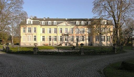 Leverkusen Schloss Morsbroich Hauptgebäude