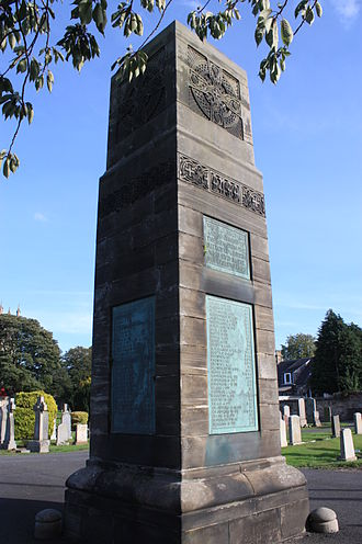Liberton, Edinburgh - Liberton War Memorial, South Edinburgh