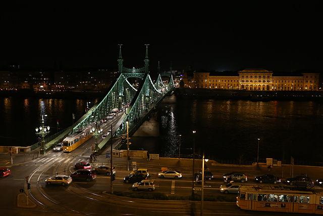 Pont de la liberté à Budapest - Photo de Thaler Tamas