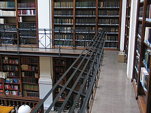 University of Graz Library - Gallery of the main reading room