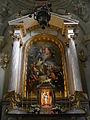 Lichtentaler Pfarrkirche - Hochaltar mit Altarbild der 14 Nothelfer V2.jpg