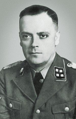 Arthur Liebehenschel - Arthur Liebehenschel as SS-Sturmbannführer