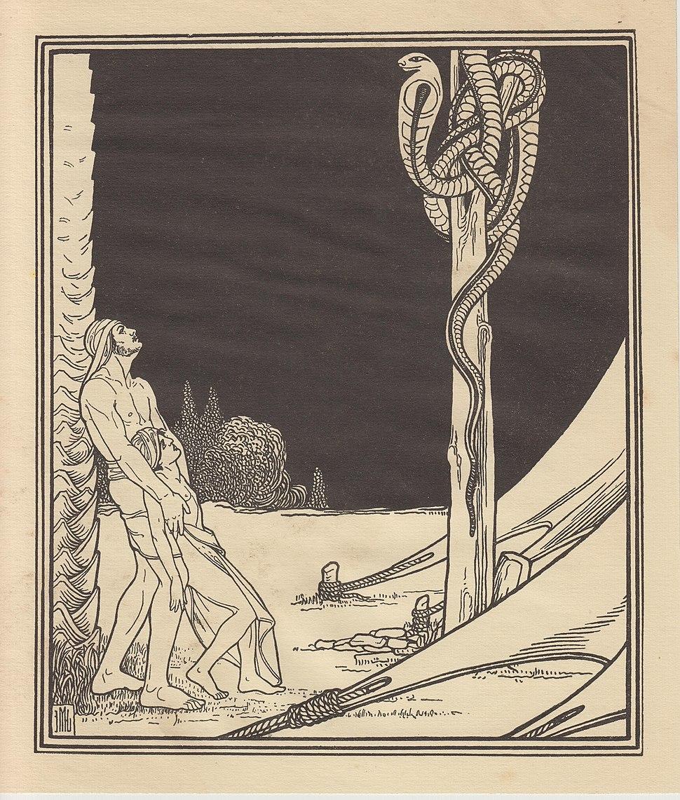 Lilien Ephraim Moses, 1923, Miedziany wąż