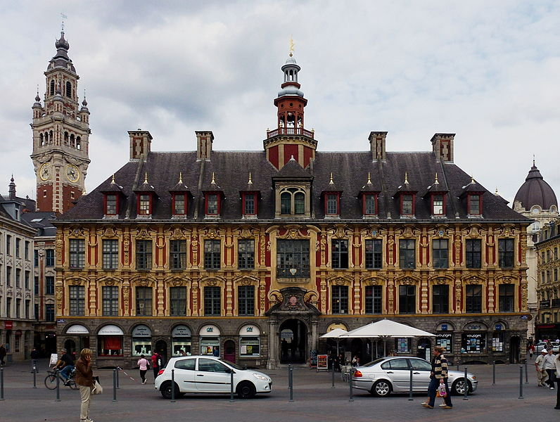 Vieille Bourse à Lille Nord (département français)