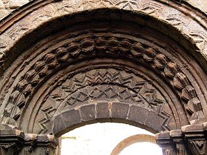 John Mirk - Image: Lilleshall Abbey south entrance 01