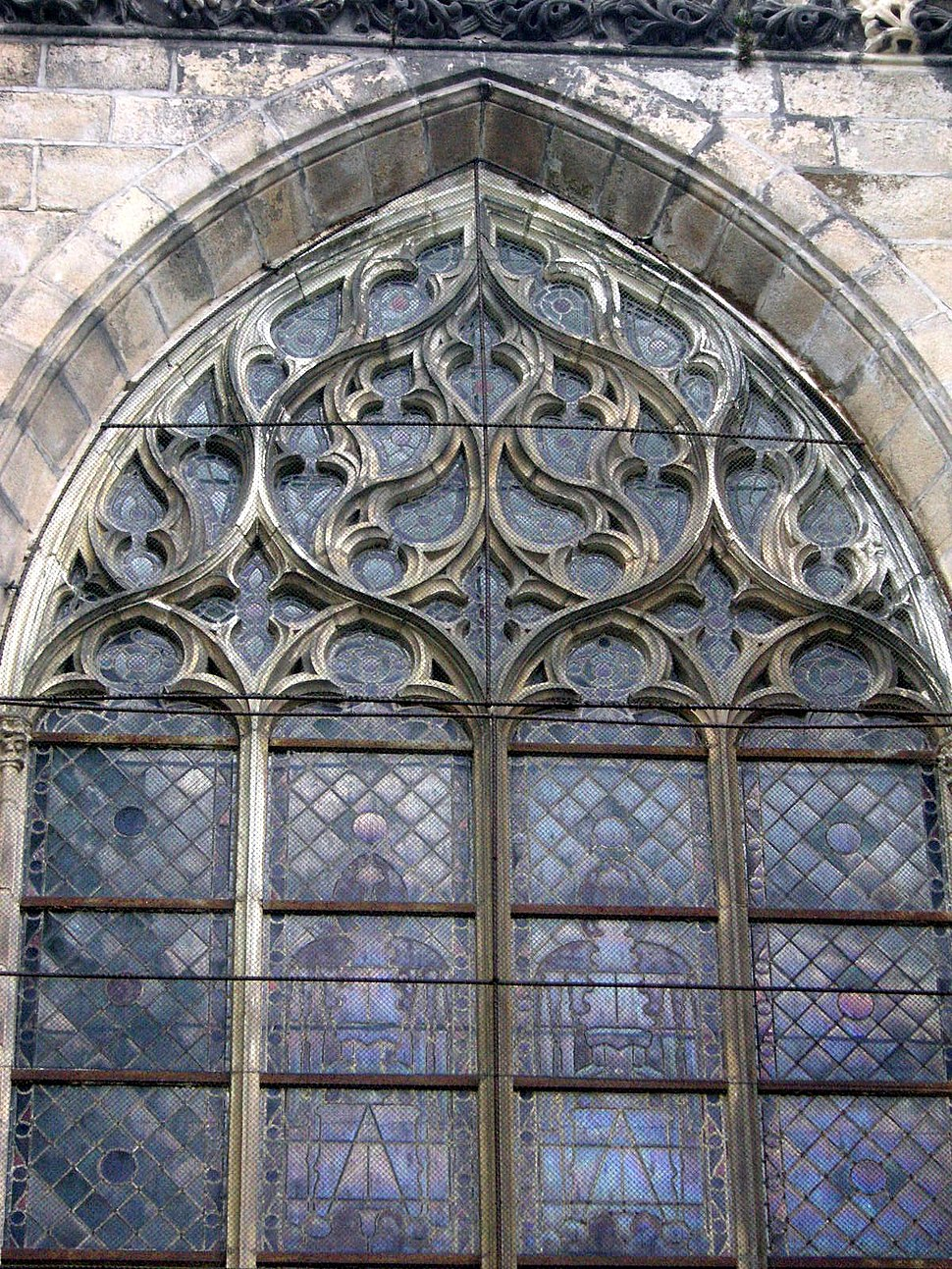 Limoges curvilinear tracery
