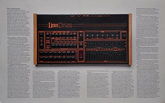 LinnDrum - Image: Linn Drum digital drum machine brochure page 2 3