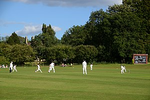 Liphook - Liphook and Ripsley CC. Ripsley House beyond.